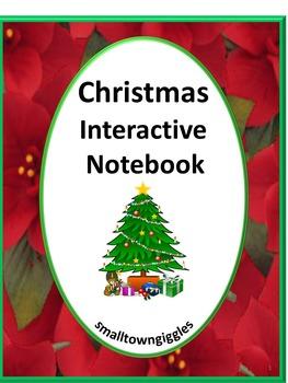 Christmas Literacy Center Math Center Interactive Notebook Fine Motor Activities