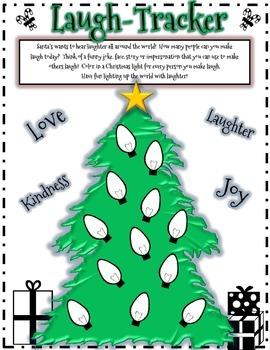 Christmas Fun - Laugh Tracker