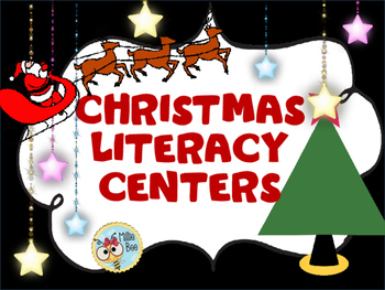 2nd grade Christmas Literacy Center