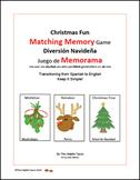 Christmas Fun Matching Memory Game! !Diversión Navideña Ju