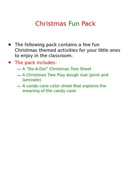 Christmas Fun Pack