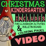 Kindergarten Christmas Activities, Centers, and Worksheets