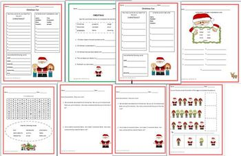 Christmas Fun Pack, Math. Differentiated Learning