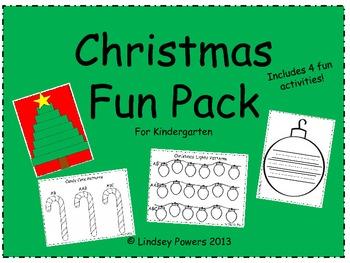 Christmas Fun Pack for Kindergarten