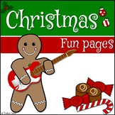 Christmas Activities and Fun Pages