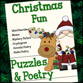 Christmas Fun - Puzzles & Poetry
