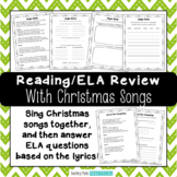 Fun Christmas Reading Activities – Christmas ELA and Reading Comprehension