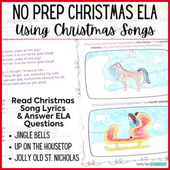 Fun Christmas Reading Activities – Christmas ELA and Reading Comprehension