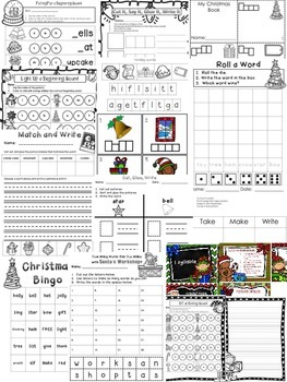 Christmas Fun! Reviewing a Variety of Literacy Skills