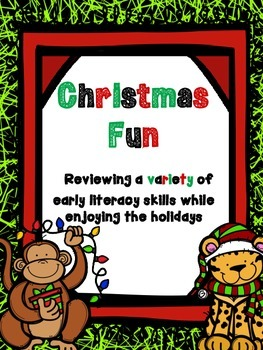 Christmas Fun! Reviewing a Variety of Literacy Skills