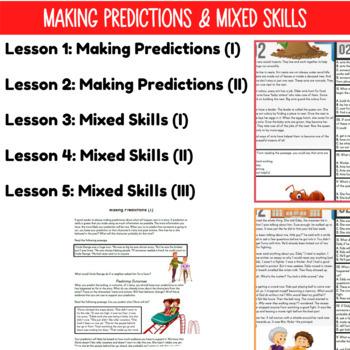 Reading Comprehension Passages | Making Predictions & Mixed Skills | Grade 3-4