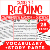 Reading Comprehension Passages | Making Predictions & Mixe