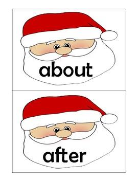 Christmas - Sight Word Flashcards