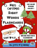 Christmas - Sight Word Flashcards
