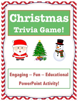 christmas trivia game christmas game christmas facts ppt - Fun Christmas Trivia