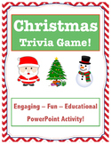 Christmas Trivia Game // Christmas Game // Christmas Facts // PPT