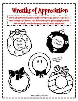 Christmas Fun - Wreaths of Appreciation