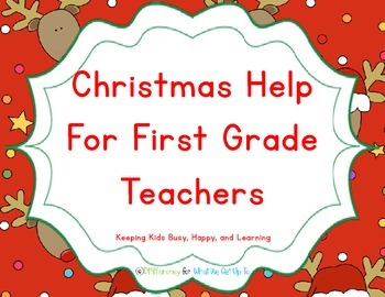 Christmas Fun for First Grade