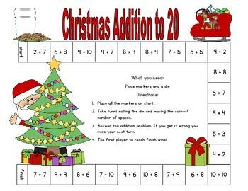 Christmas Fun for First Grade