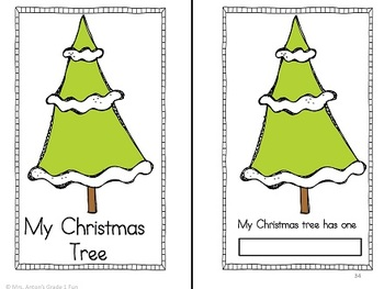Christmas Fun for Reading and Math
