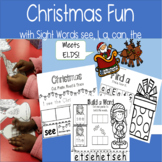Christmas Fun with Sight Words see I a can the