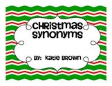 Christmas Fun with Synonyms