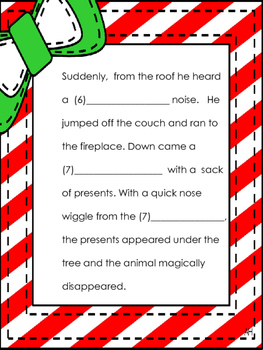 Christmas Funny Fill in Story