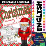Christmas Funny Worksheets for ELA centers (Pre-K/1st Grade)