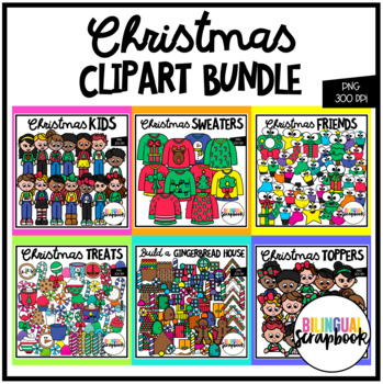 Christmas BUNDLE (Clip Art for Personal & Commercial Use)
