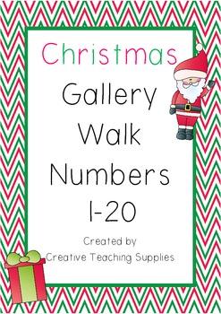 Christmas Gallery Walk Numbers 1-20