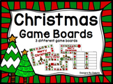 Christmas Game Boards