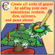 Christmas Game Boards Clipart