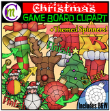 #tptjulychristmas Christmas Game Boards Clipart