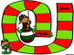 Christmas Game Boards With Editable Cards
