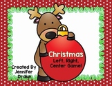 Christmas Game!  Christmas Left, Right, Center!  Great K-2 Center/Party Fun!