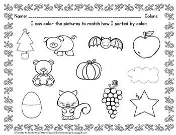 Christmas Game & Center- 'All Aboard the Color Train'- ADD-ON to Freebie Pack!