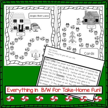 Christmas Game FREEBIE: Jingle Bell Lane!