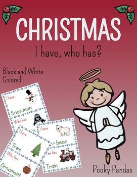 Christmas Game: I have, Who Has?