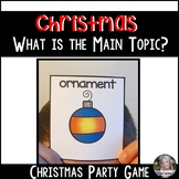 Christmas Game (Main Topic and Details)