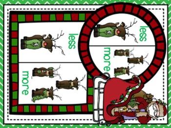 Christmas Math Game Pack