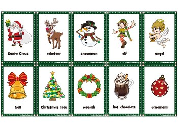 Christmas Game Playing Cards