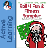 Christmas Game: Roll 4 Fun and Fitness