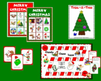 Christmas Game Set