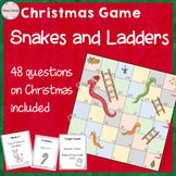 Snakes and Ladders - Christmas Game