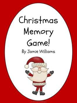 Christmas Game: vocabulary
