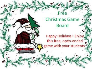 Christmas Gameboard
