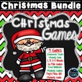 Christmas Games Go Fish & Memory Games Bundle