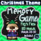 Christmas Games Go Fish & Memory Games Bundle