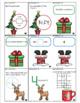 Christmas Games Math RIT 181-190 Memory Game and Worksheet