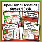 Christmas Open-Ended Games for Speech Therapy | BUNDLE
